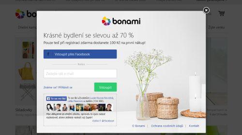 form bonami 7 ukázek formulářů a zajímavých pop up oken