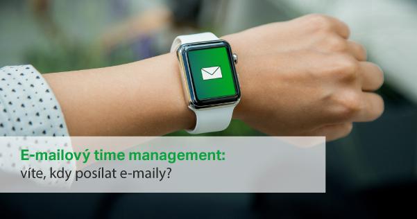 E-mailový time management je nesmírně důležitá součást e-mailingu.