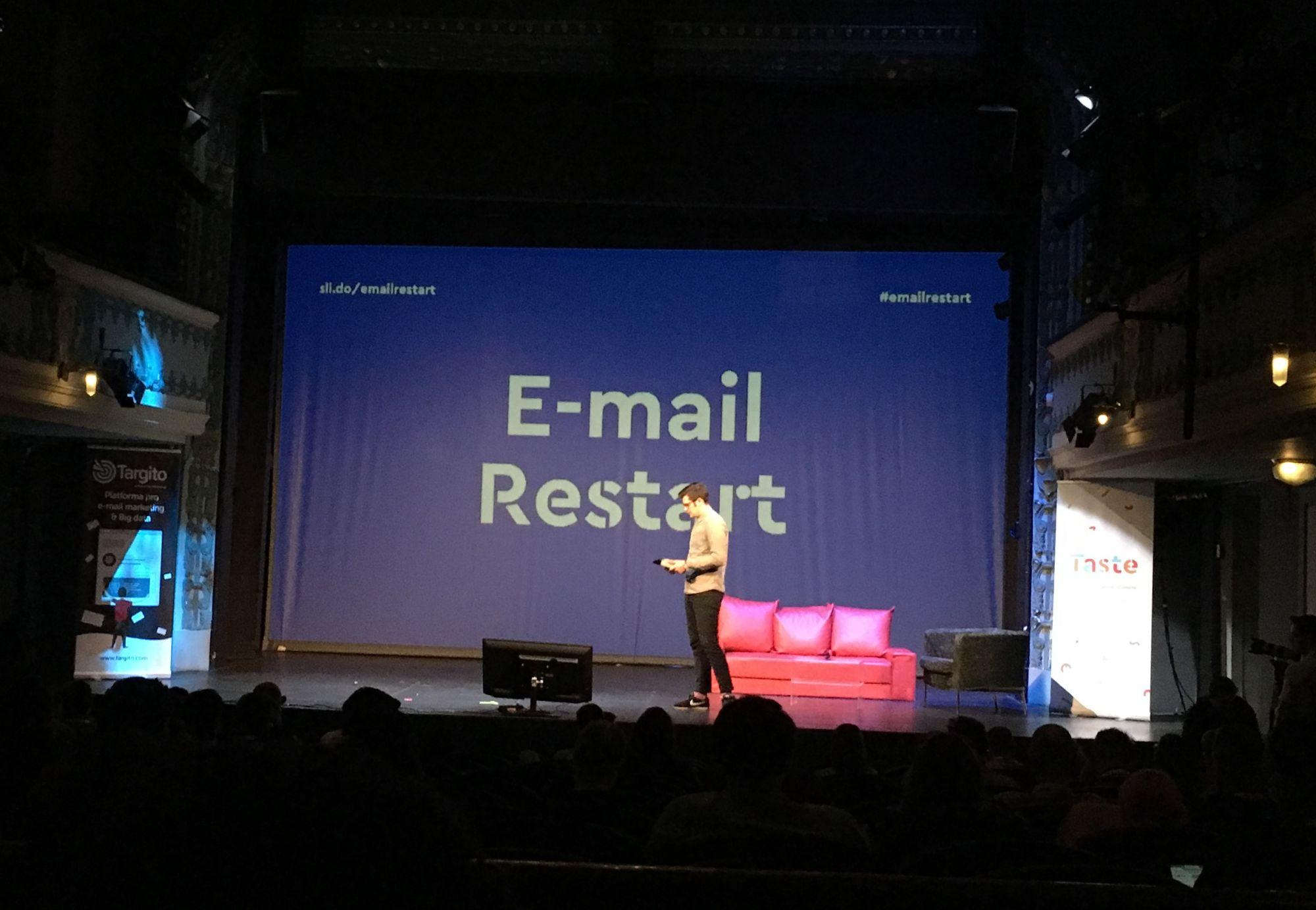 EmailRestart